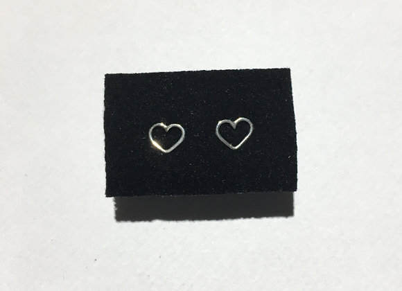 Boucle d'oreille Coeur