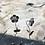 Thumbnail: Boucles d'oreilles fleurs cerisier