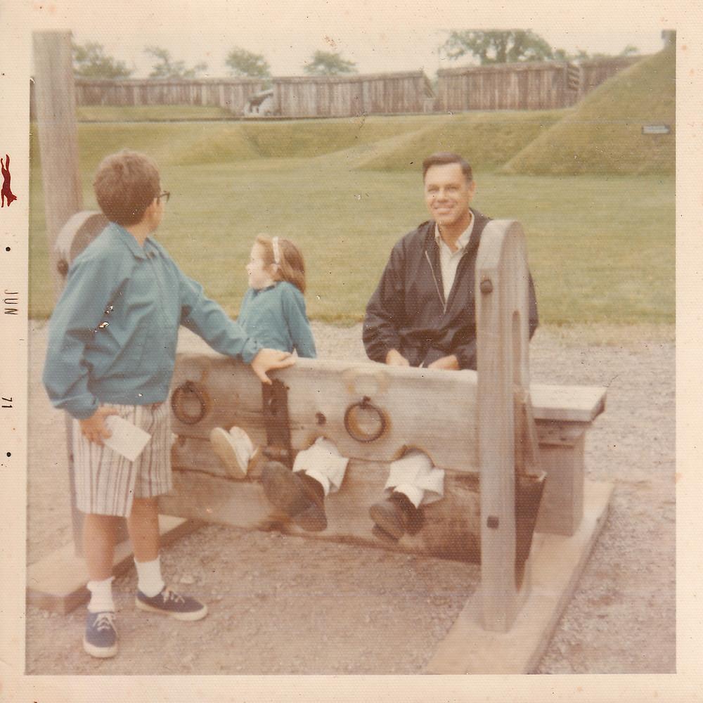Robert, Me and Dad
