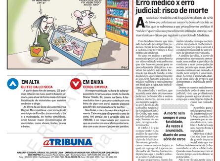 """""""Erro Médico x Erro Judicial: Risco de Morte"""""""