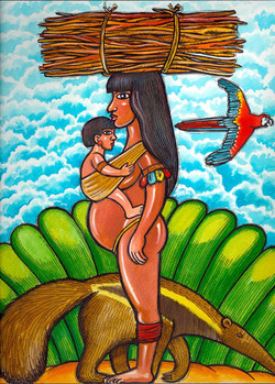 A Índia e o Bebê