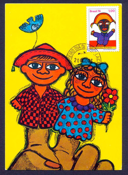 Mamulengo Postal Card