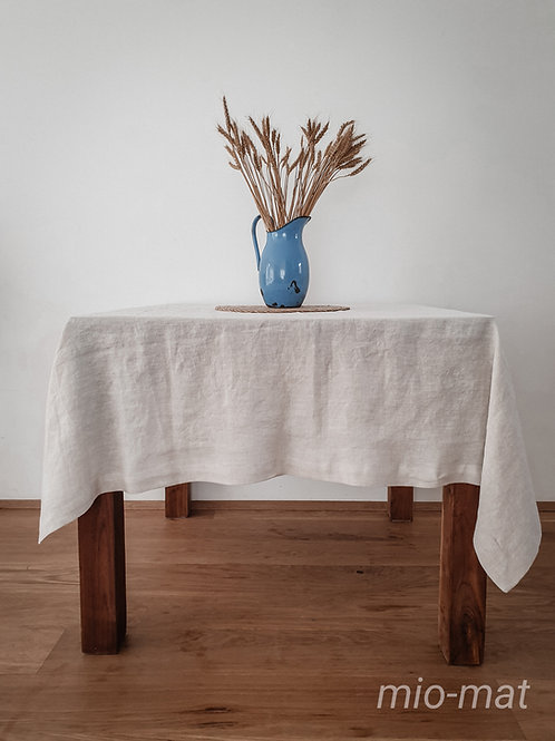 Linen tablecloth - Solid color