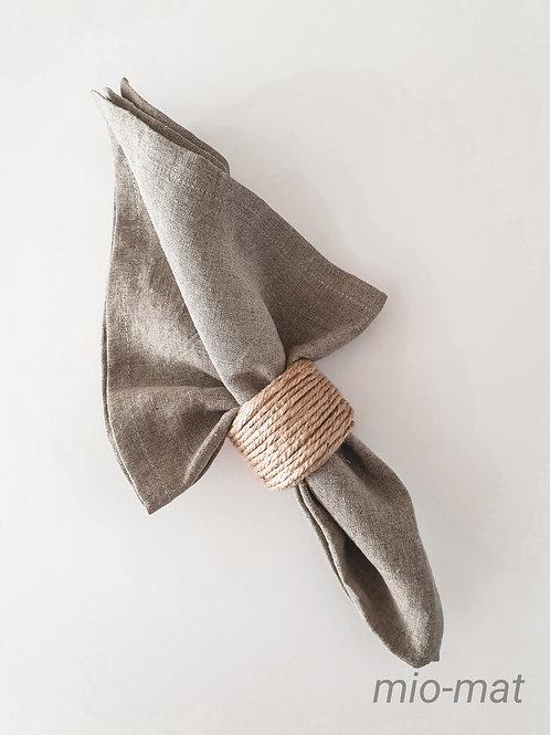 Linen napkins - linen natural (set of 2,4,6,8)
