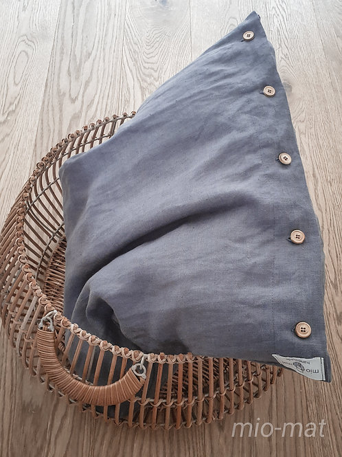 Linen pillow cover solid color