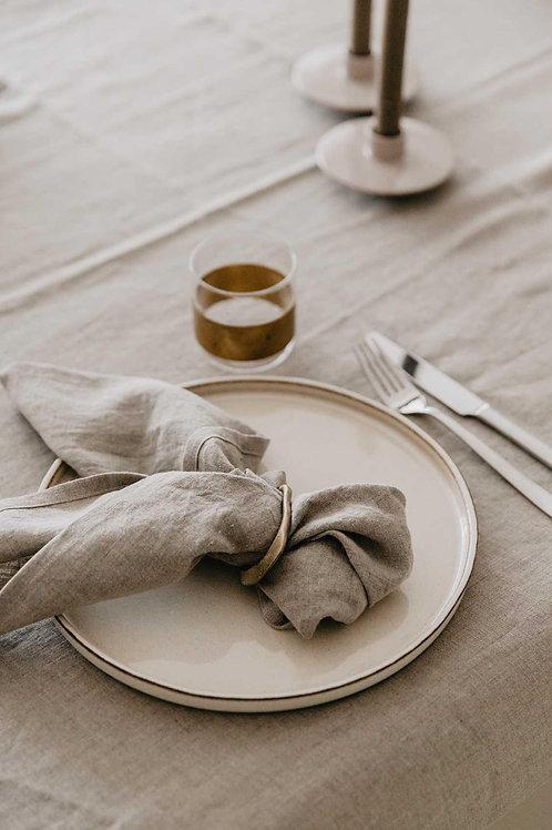 Linen napkins solid color-  set of 2,4,6,8