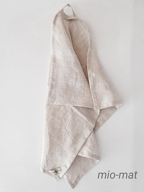 Linen tea towel - beige