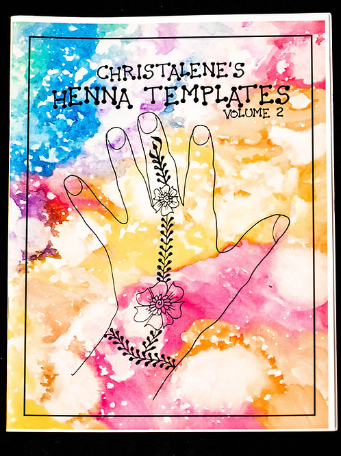 Henna Template Coloring Book Vol. 2
