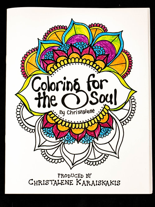 Coloring for the Soul Coloring Book