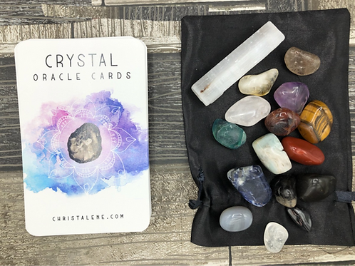 Crystal Oracle Cards & Crystals