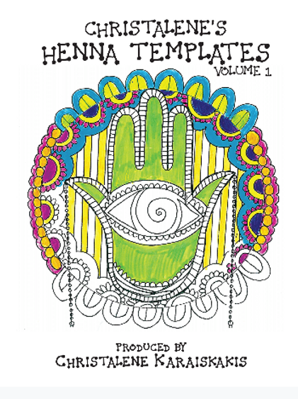 Henna Template Coloring Book Vol.1