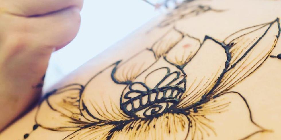 Beginners Henna Workshop - Chicago