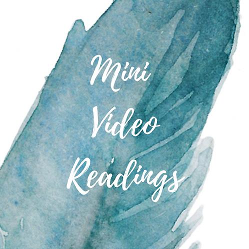 Mini Video Readings