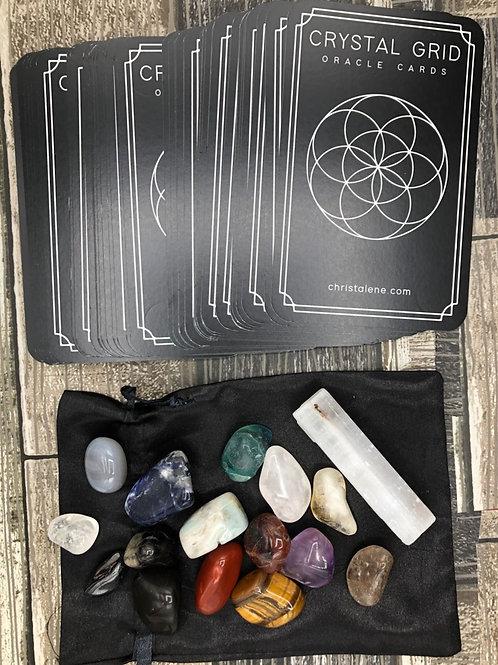 Crystal Grid Cards & Crystals
