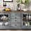Northridge Beaufort Vintage Grey Accent Console for TVs up to 70 inch