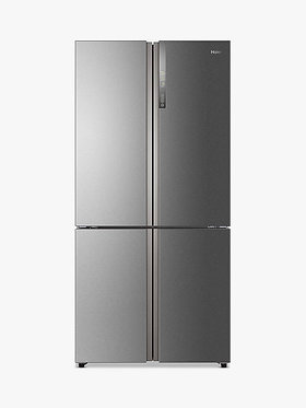Haier HTF-610DM7, Multidoor Fridge Freezer A++ Rating in Stainless Steel