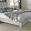 Bentley Designs Montreux Soft Grey Upholstered Bedstead side view