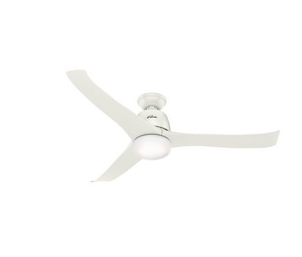 Hunter Harmony 3 Blade (137cm) Indoor Ceiling Fan with Lights