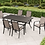7 Piece Sling Dining Patio Set