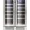 Montpellier WS38DDX, 38 Bottle DualZone Wine Cooler in Stainless Steel