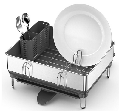 Simplehuman Stainless Steel Frame Compact Dishrack #421331