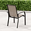7 Piece Sling Dining Patio Set, chair rear view