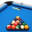MightyMast Leisure Astral 7ft Outdoor Pool Table