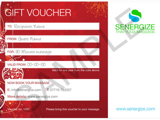 20% discount on all Senergize vouchers