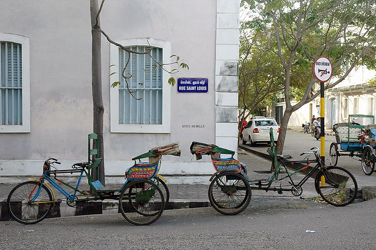 15  Rue Saint Louis - Pondicherry   © Louis Divine 2017