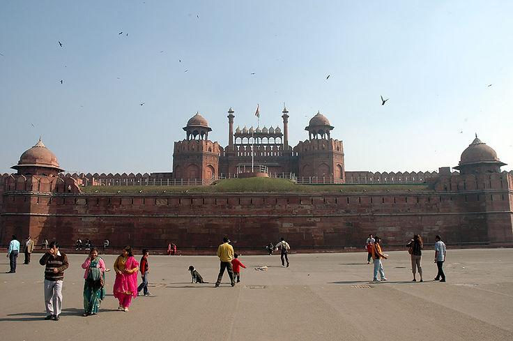 12  Red Fort - New Delhi, Delhi   © Louis Divine 2017