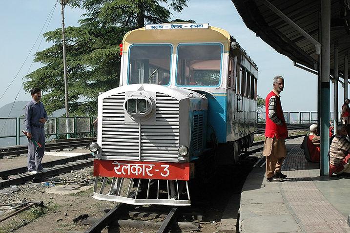 6  Narrow Gauge Train, Shimla/Kalka Railway - Shimla, Himachal Pradesh   © Louis Divine 2017  