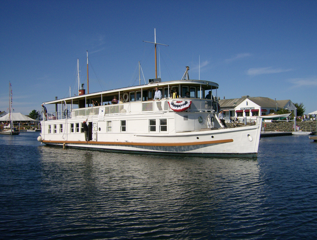 MV Lotus at Wooden Boat Show