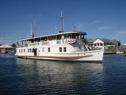 MV Lotus at Wooden Boat Show