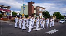 Navy Band at Waterland Parade
