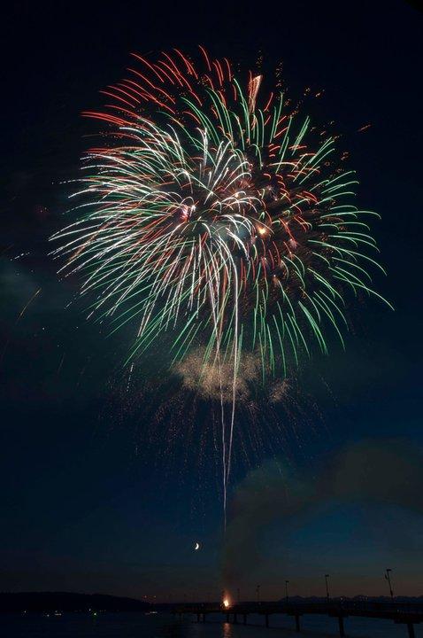 Fireworks over Des Moines