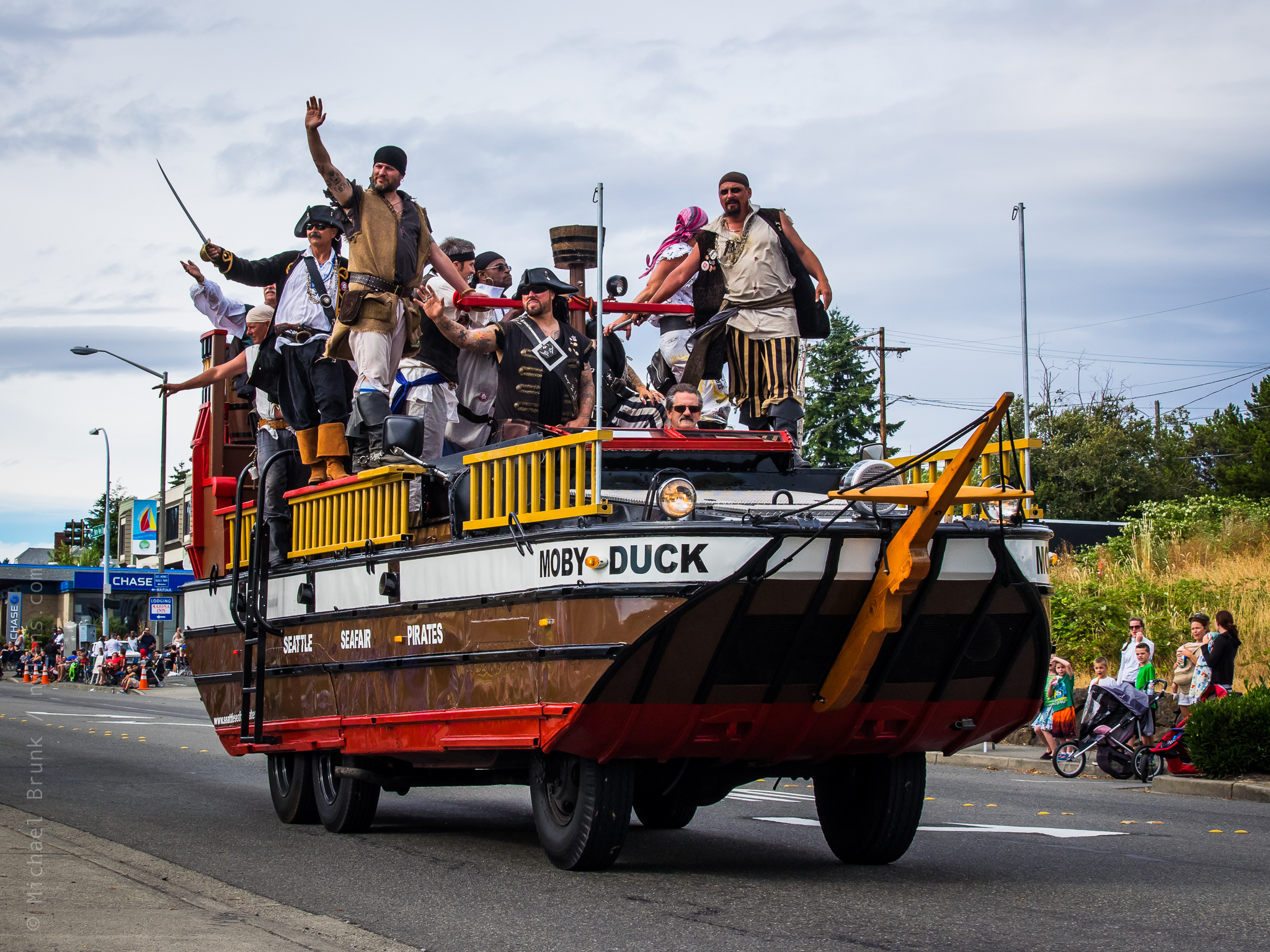SeaFair Pirates Waterland Parade