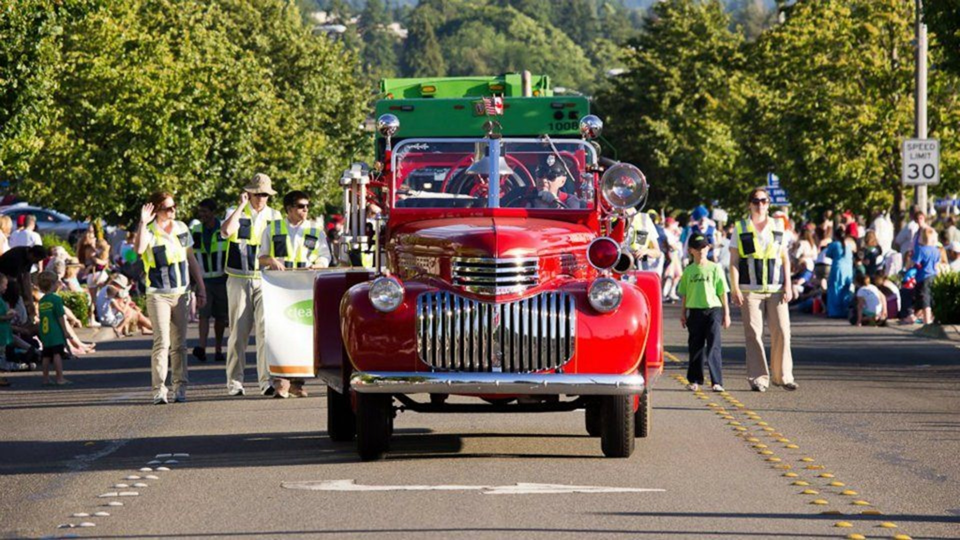 SeaFair Sanctioned Waterland Parade