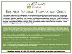 09 Business portrait preparation