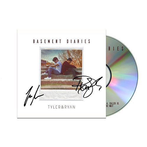 Autographed Basement Diaries Debut EP ( Physical Copy )