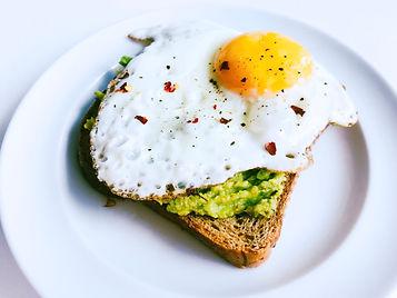 Avokado æggesandwich