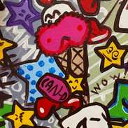 """Detail of """"Sweet Tooth Cavity"""", 2021"""