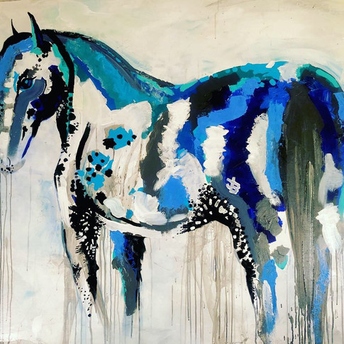 Sylvestre the Paint Pony, 2019