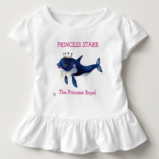 Adorable Baby's Ruffled Blouse / Princess Star, The Princess Royal
