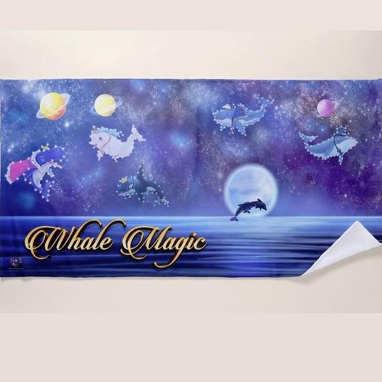 Beach Towel Luxury Large / Royal Constellations