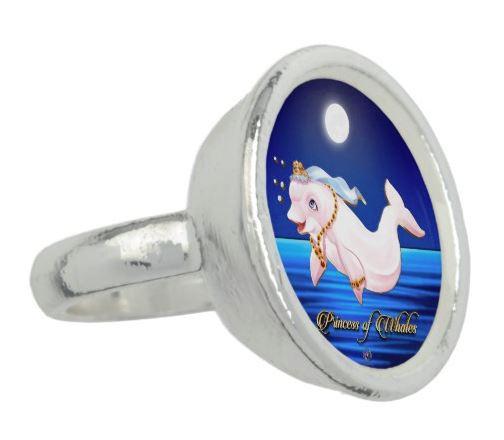 """Ring Princess Eviana, Princess of Whales """"Moon Dance"""""""