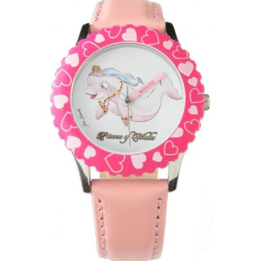 Beautiful Princess Eviana, Princess of Whales Girls Watch Pink Hearts