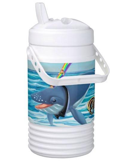 Half Gallon Tumbler by Igloo / Lord Rippletail Magic Rainbow Water Slide