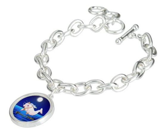 "Charm Bracelet / Princess Eviana, Princess of Whales ""Moon Dance"""
