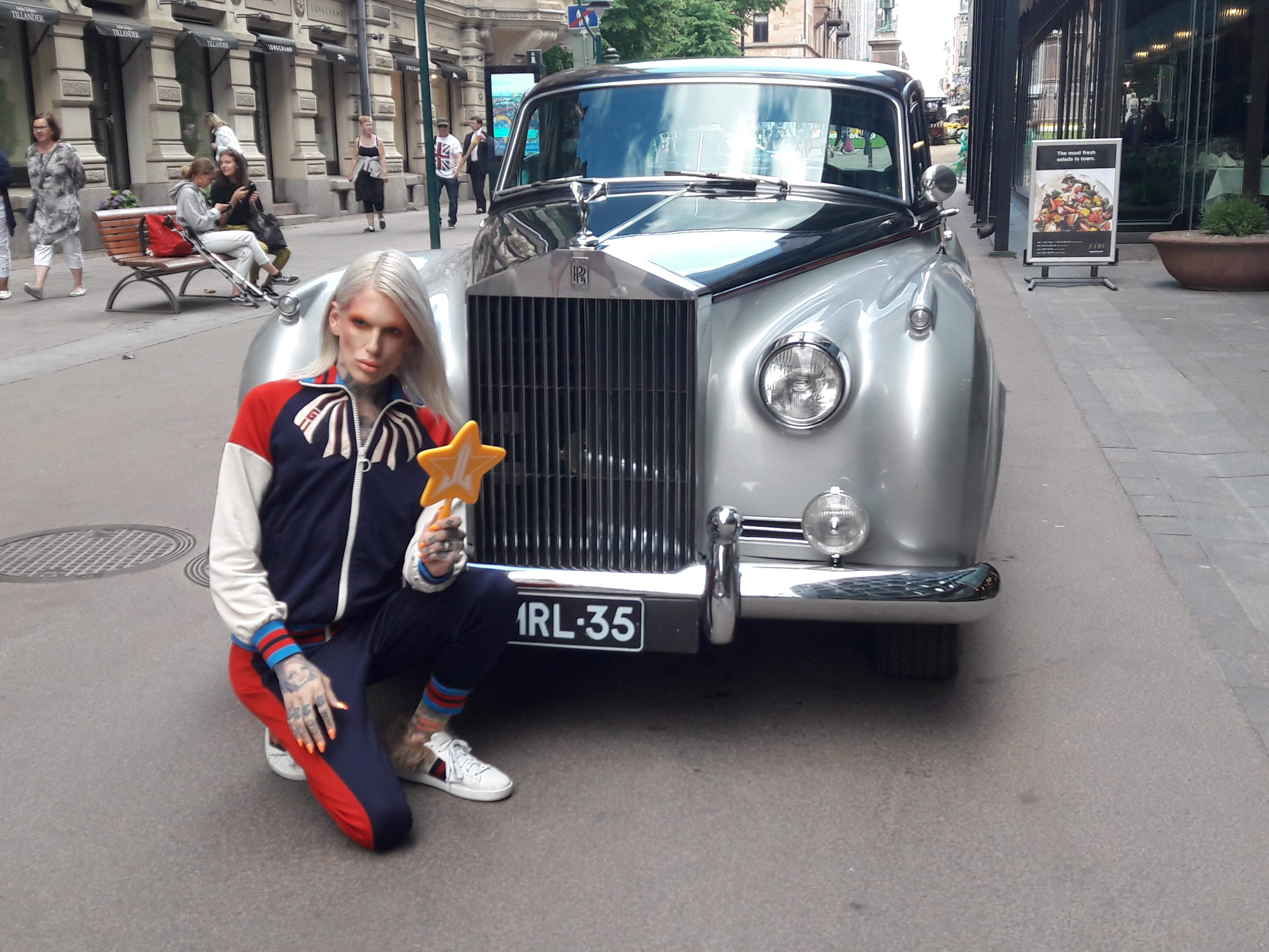 Jeffree Star, Rolls Royce, Finland