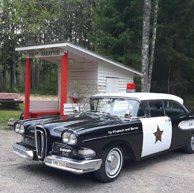 Edsel Ranger - poliisiauto, 1958